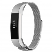 Fitbit Alta HR and Alta Bands, Coukou Milanese Loop Stainless Steel Replacement Metal Band Strap Bracelet for Fitbit Alta HR and Alta, Silver