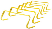 "SKLZ 6x Hurdles- 6"" Ultra Durable, All Purpose Speed Training, Agility, and Plyometric Hurdles (Set of 6)."