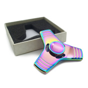 Aluminium Alloy Colourful Fidget Hand Spinner High Speed ADHD Focus Anxiety Stress Relief Toys