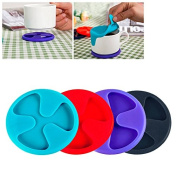 Saucer Can Also Be Used as a lid/Diameter 7.5 cm