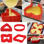 Magic Bake Snakes Food Grade Silicone Cake Mould Tools