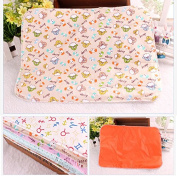 1pc Baby Waterproof Infant Cloth Nappy Nappy Bedding Changing Mat Random Colour