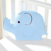 Starworld Baby Pillow, Carton Elephant Shape Pillow for Newborn Baby Prevent Flat Head, Sleeping Memory Infant Support