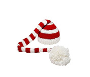 Yeah67886 Infant Baby Knit Crochet Lovely Warm Hat Christmas Photopraphy Props