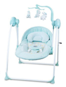 NWYJR Infant Rocker Newborn Suitable Vibration Electric Appease Music Timing Bed Baby rocker Swing