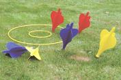 Giant Garden Lawn Darts Outdoor Family Fun Traditional Party Game