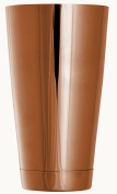 Tuff-Luv Premium Quality Weighted Boston Ginza Cocktail Shaker Base / Can (65cl) - Rose Gold