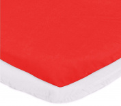 aBaby Bassinet Mattress Protector and Sheet Combo, Red, 33cm x 70cm