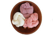 Newborn Photography Prop Stretch Wraps, DIY Infant Photos, Baby Photo Blanket Prop, Multiple Colours for boys and girls by Lakeson & Co.