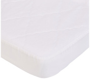 aBaby Cradle Mattress Protector and Sheet Combo, Red, 38cm x 80cm