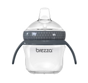 Baby Brezza Transition Cup with Removeable Handles - Grey - 150ml