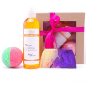 Tropical Pamper Gift Box - Handmade & Natural - Bath Gift - Gift For Woman - Gift For Her - Vegan