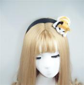 Cute Sexy Womens Attractive Vivid Cat Ear HeadBand Hair Band for Halloween