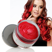 HailiCare Red Hair Wax 130ml, Professional Hair Pomades, Natural Matte Hairstyle Max for Men Women