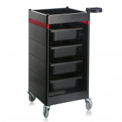 Segbeauty Storage Containers Utility Cart for Beauty Salon Spa Barber Shop, Drawer Organiser Trolley with Casters for Rolling, Manicure Pedicure Makeup Organiser Dolly