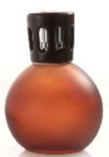 BROWN Small Frosted Glass Sphere Lampair Fragrance Lamp by Millefiori Milano