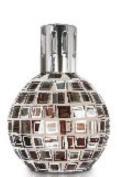 BRONZE WHITE MOSAIC Lampair Fragrance Lamp by Millefiori Milano