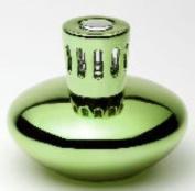 GREEN METALLIC Lampair Fragrance Lamp by Millefiori Milano