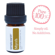 Myrrh Essential Oil by Simply Earth - 5ml, 100% Pure Therapeutic Grade