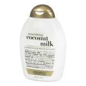 OGX Nourishing Revitalisant Coconut Milk Conditioner, 385ml