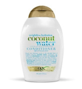 OGX Weightless Hydration Coconut Water Conditioner, 385 mL