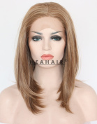 Heahair Bob Brown Short Hair Synthetic Lace Front Wigs HS3011