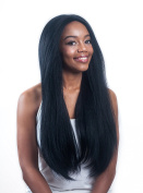 O Zone Front Lace Wig #43cm - 7.6cm depth Swiss Lace - (#1B)
