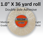 3m Clear 1522 Tape 2.5cm X 36 yard = Double side adhesive