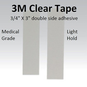 3m Clear 1522 Tape 1.9cm Straight = Double side adhesive =1 pack of 36pcs