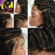 RJ HAIR Brazilian Bob Full Lace Wigs With Bangs 100% Virgin Human Hair Short Bob Lace Front Wigs For Black Women