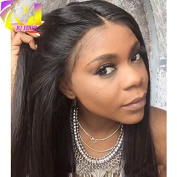 Natural Hairline Lace Front Wigs Unprocessed Virgin Brazilian Human Hair Silky Straight Front Lace Wigs Glueless For Black Women