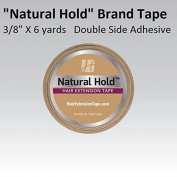 """Natural Hold Extension Tape 3/8"""" X 6 yard roll 4cm X 0.8cm"""