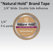 Natural Hold Extension Tape 0.6cm X 6 yard roll