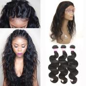 Royale Hair Human Hair Body Wave 3 Bundles Unprocessed Virgin Brazilian Hair Remy Human Hair Extension Natural Colour 100g Body Wave Hair Weave