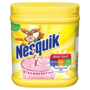 Nesquik Strawberry Powder Tub, 500 g