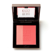 Beau Kiss Silky Soft Blusher with Vitamin E, Gentle on Skin Instant Powder Blush Duo in Compact – 10ml (8g)