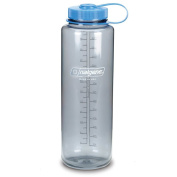 NALGENE Everyday Tritan SILO Wide Mouth Travel Water Bottle - 1420ml - Grey w/Blue Cap