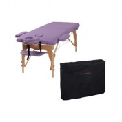 The Best Massage Table 7.6cm Purple Portable Massage Table - PU Leather High Quality - By Heaven Massage