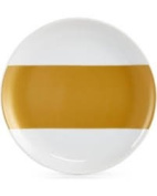 The Cellar Gold-Tone Serveware Collection Porcelain Gold-Tone Appetiser Plate