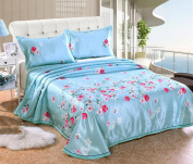 Ice Skirt Water Washing Bed Skirt Three - Piece European - Style Mat -,A