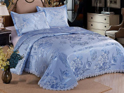 Ice Skirt Water Washing Bed Skirt Three - Piece European - Style Mat -