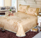 Ice Silk Mats Environmental Protection Washed Bed Sheets Ice Silk Seats Air Conditioning Seats,A