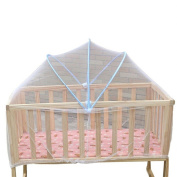 Bodhi2000 Baby Cradle Bed Canopy Mosquito Fly Netting Net 100cm x 60cm, Random Colour
