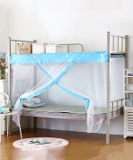 Student Mosquito Net Single Double Bed Mosquito Net Dormitory Upper And Lower Berth Mosquito Nets Simple Mosquito Nets Bed Canopy Curtain