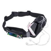 Running Belt Pouch, RundA Waterproof Adjustable Running Fitness Waist Funny Pack Bag for iphone 7 plus Samsung S7 edge
