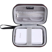 LTGEM EVA Hard Case for Polaroid ZIP Mobile Printer w/ZINK Zero Ink Printing Technology