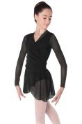 Intermezzo Dancewear Jercrured Wrap Top