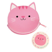 Cookie The Cat Vinyl Coin Purse