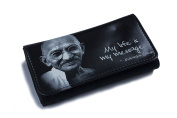 High Quality Faux Leather Tobacco Pouch - My Life Is My Message