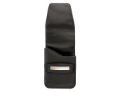 Cigarette case NICE REAL LEATHER black for Boxes Size L, XL and 9.8cm